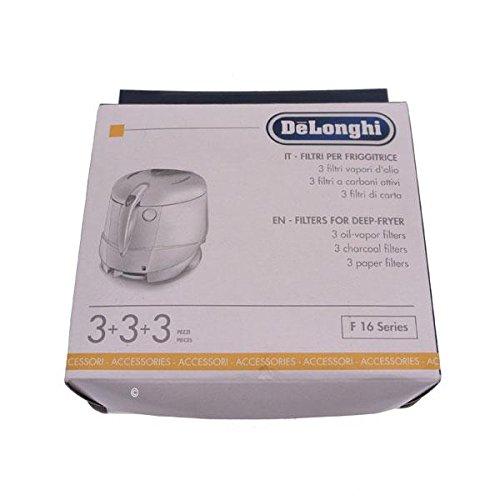 Delonghi - Kit di filtri (f16200 f16231 f16233 f16301 f16313) per friggitrice f16301